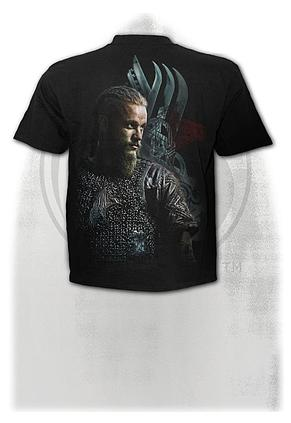 b464ba51012 RAGNAR FACE - T-Shirt Black