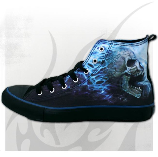 FLAMING SPINE - Sneakers - Men's High Top Laceup