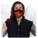 TRIBAL FLAMES - Protective Face Masks