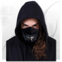 ZIPPED MOUTH - Premium Cotton Fashion Mask with Adjuster