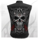 THE DEAD - Sleeveless Stone Washed Worker Black