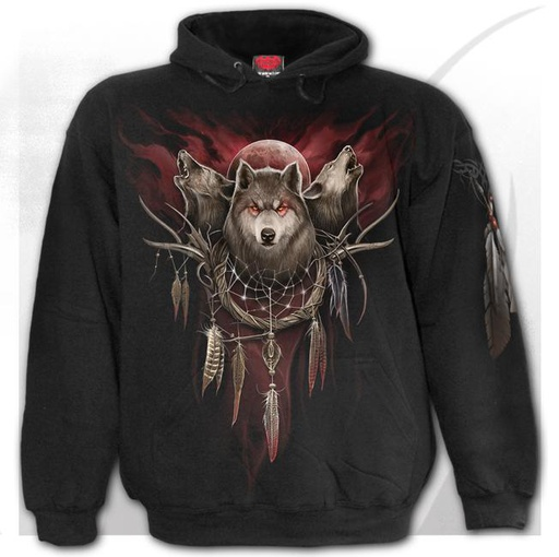 CRY OF THE WOLF - Hoody Black