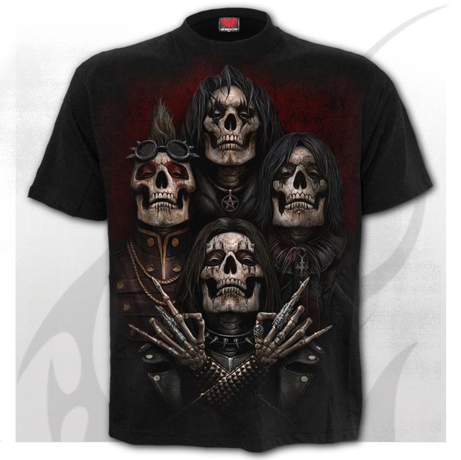 FACES OF GOTH - T-Shirt Black