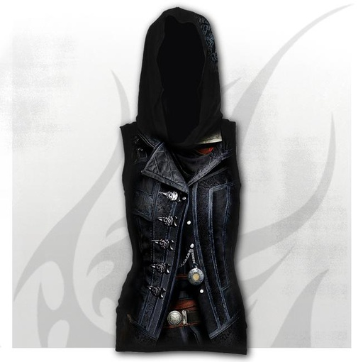 ASSASSINS CREED SYNDICATE EVIE - Allover Sleeveless Gothic Hood
