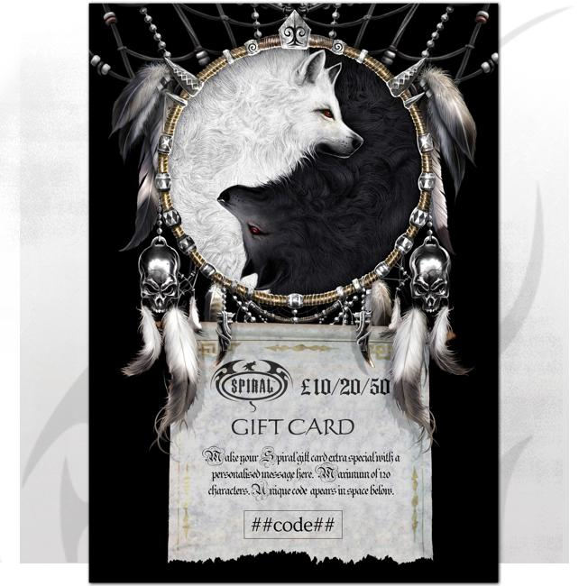 Wolf Gift Card