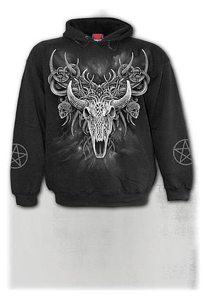 HORNED SPIRIT - Hoody Black