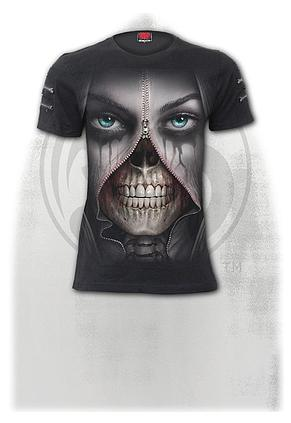 ZIPPED - Twin Zipper Sleeve Fashion Tee