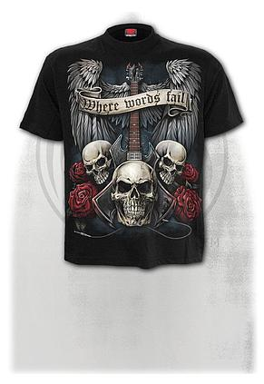 UNSPOKEN - T-Shirt Black