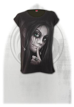 ZIPPED - Turnup Sleeve Loosefit Tee