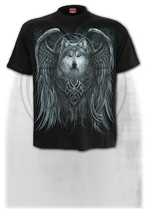 WOLF SPIRIT - T-Shirt Black