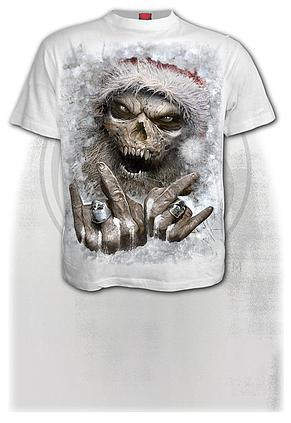 ROCK SANTA - T-Shirt White