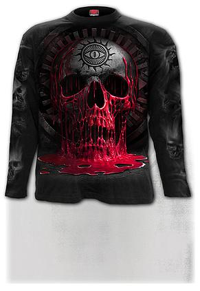 BLEEDING SOULS - Longsleeve T-Shirt Black