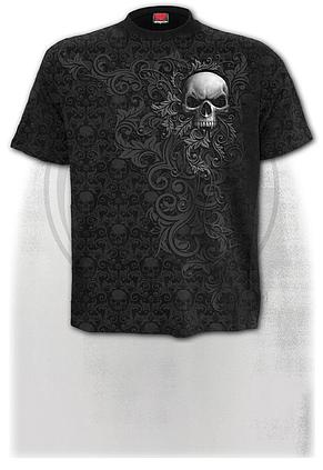 SKULL SCROLL - Scroll Impression T-Shirt