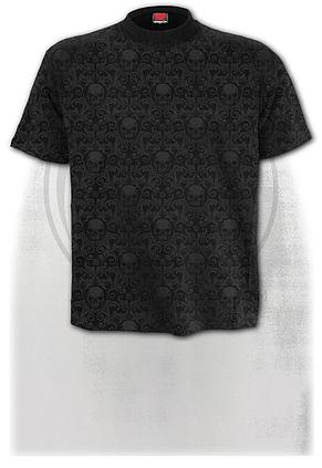 URBAN FASHION - Scroll Impression T-Shirt
