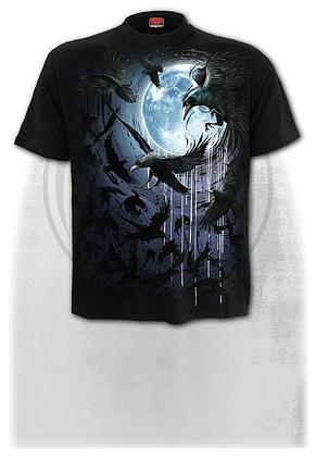 CROW MOON - T-Shirt Black