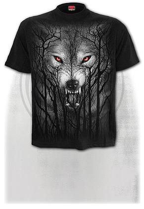 Spiral Direct FOREST WOLF Hoodie Wolf//Forest//Native American