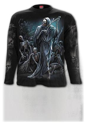 DANCE OF DEATH - Longsleeve T-Shirt Black