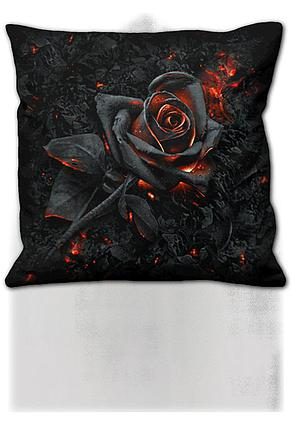 BURNT ROSE - Square Cushion