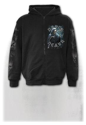 DANCE OF DEATH - Full Zip Hoody Black