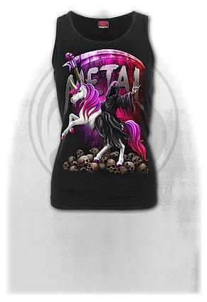METALLICORN - Razor Back Top Black