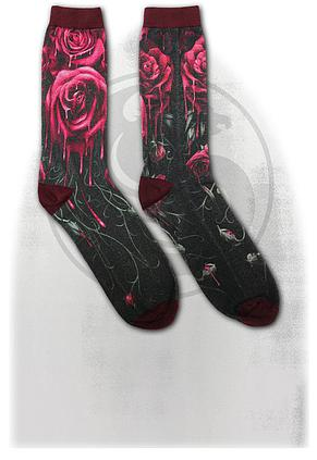BLOOD ROSE - Unisex Printed Socks