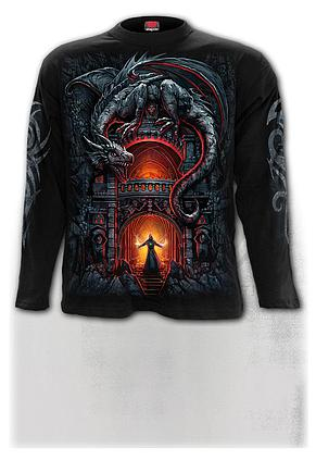 DRAGON'S LAIR - Longsleeve T-Shirt Black