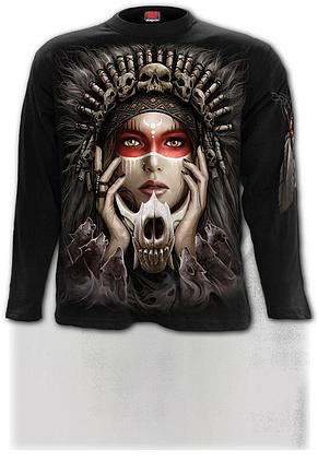 CRY OF THE WOLF - Longsleeve T-Shirt Black