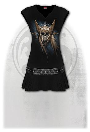 ANGEL WARRIOR - Stud Waist Mini Dress Black