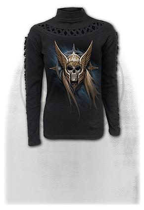 ANGEL WARRIOR - Waterfall Slits Longsleeve Top