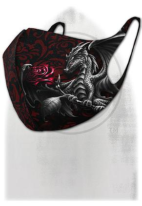 DRAGON ROSE - Face Mask