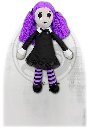 VIOLA - THE GOTH RAG DOLL - Collectable Soft Plush Doll
