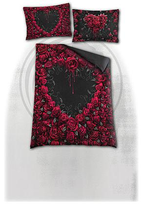 BLEEDING HEART - Single Duvet Cover + UK And EU Pillow case