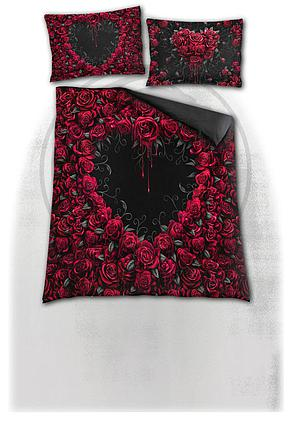 BLEEDING HEART - Double Duvet Cover + UK And EU Pillow case