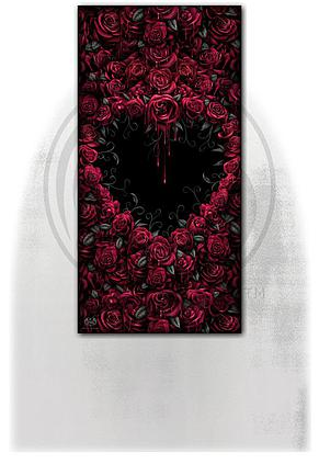 BLEEDING HEART - Bath Towel 70x140cm