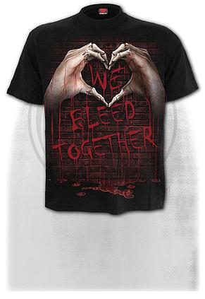 WE BLEED TOGETHER - T-Shirt Black