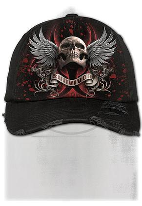 LOCKDOWN 2020 - Baseball Caps Distressed with Metal Clasp