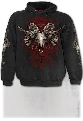 FACES OF GOTH - Hoody Black