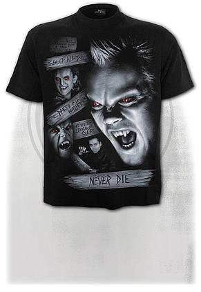 THE LOST BOYS - NEVER DIE - T-Shirt Black