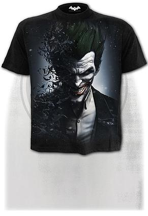 JOKER - ARKHAM ORIGINS - T-Shirt Black