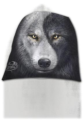 WOLF CHI - Light Cotton Beanies Black