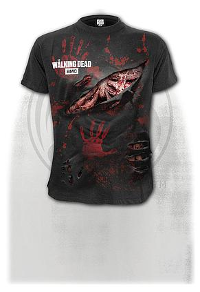 MICHONNE - ALL INFECTED - Walking Dead Ripped T-Shirt Black