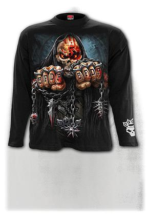 5FDP - GAME OVER - Longsleeve T-Shirt Black