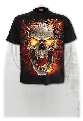 SKULL BLAST - Kids T-Shirt Black