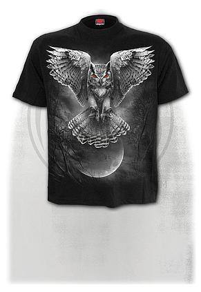 WINGS OF WISDOM - T-Shirt Black