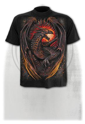 DRAGON FURNACE - T-Shirt Black