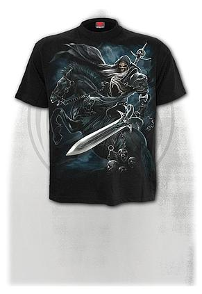 GRIM RIDER - T-Shirt Black