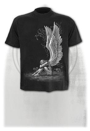 ENSLAVED ANGEL - T-Shirt Black