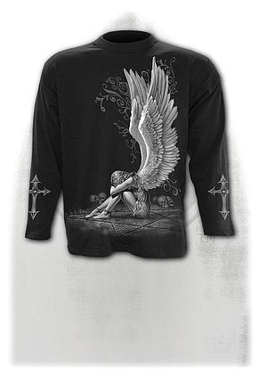 ENSLAVED ANGEL - Longsleeve T-Shirt Black
