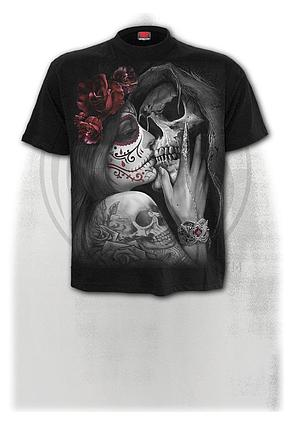 DEAD KISS - T-Shirt Black