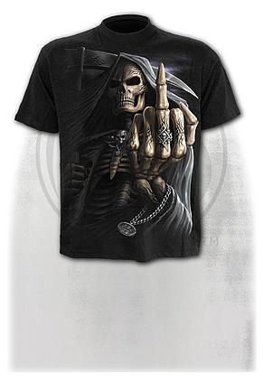 BONE FINGER - T-Shirt Black